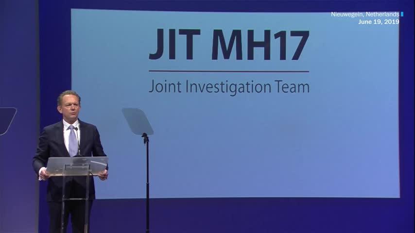 JIT công bố các nghi phạm của vụ bắn hạ MH17