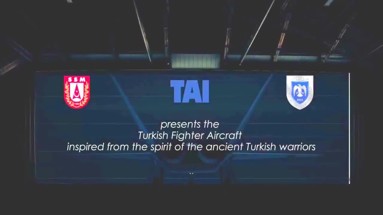 Một video quảng cáo máy bay chiến đấu tàng hình thế hệ thứ 5 TF-X của Thổ Nhĩ Kỳ.