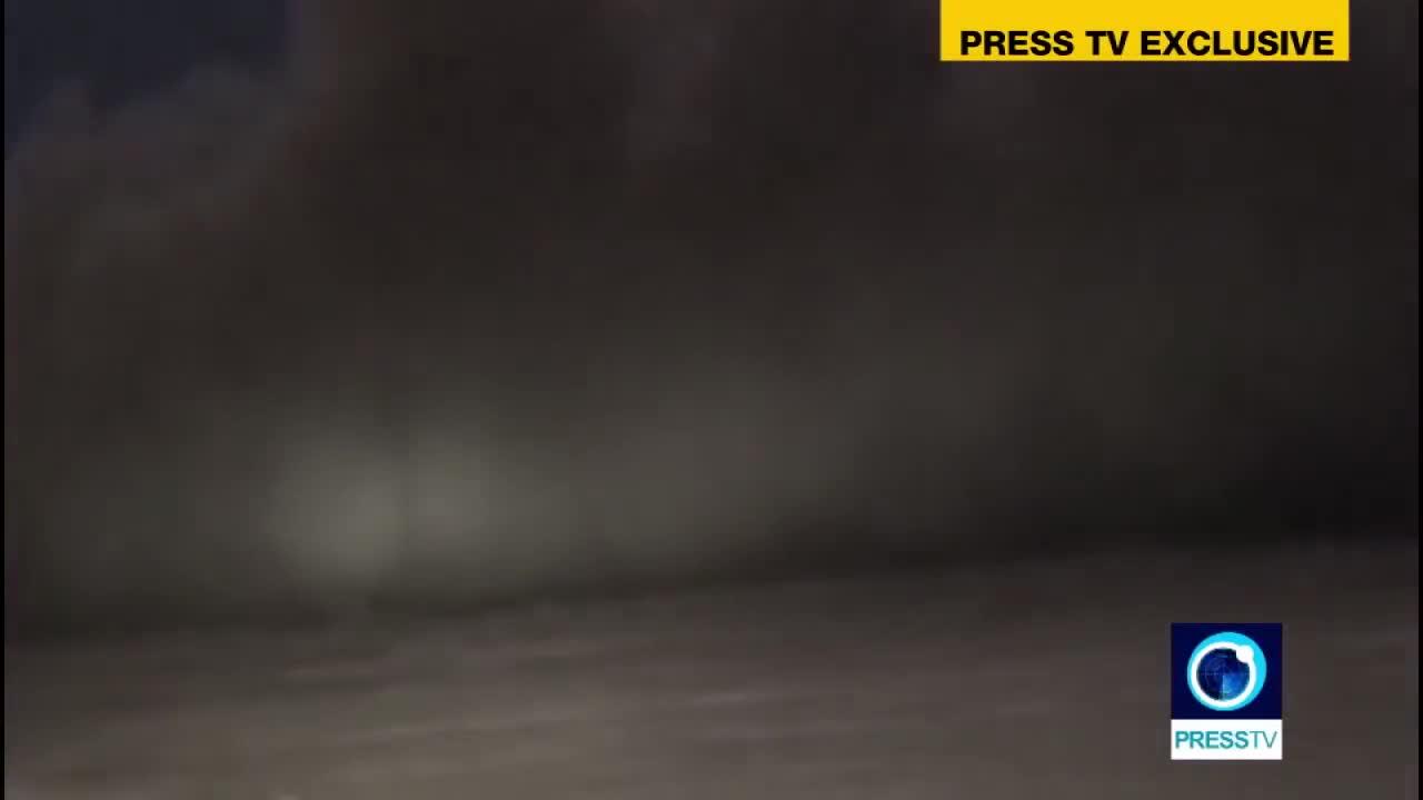 Hệ thống phòng không của Iran khai hỏa tiêu diệt mục tiêu là UAV của Mỹ hôm 19/6 (Nguồn Press TV).