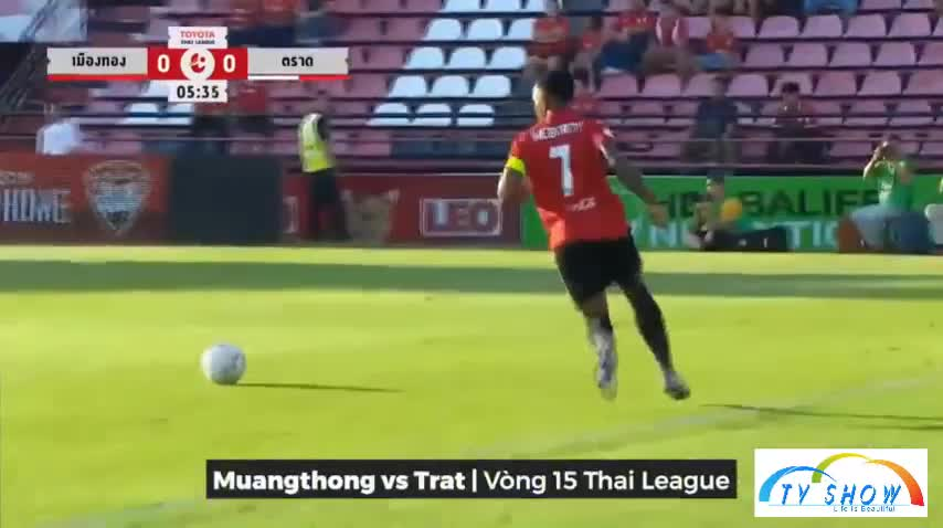 Vòng 15 Thai League: Muangthong 3-0 Trat FC
