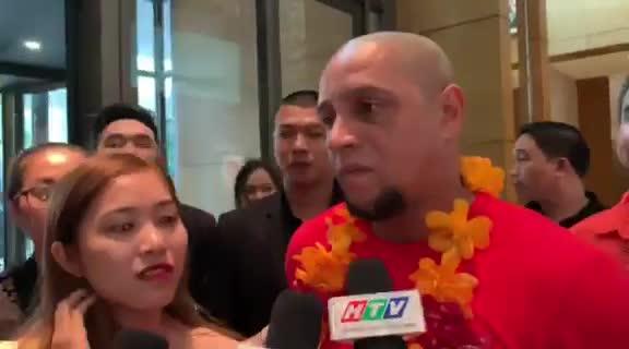 Carlos trả lời phỏng vấn lại Việt Nam