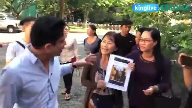 Cuộc tranh cãi giữa bác sĩ Chiêm Quốc Thái và mẹ vợ (Clip: King Pro)