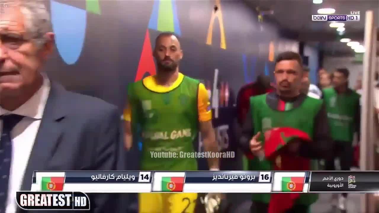 Bán kết Nations League: Bồ Đào Nha 3-1 Thụy Sĩ