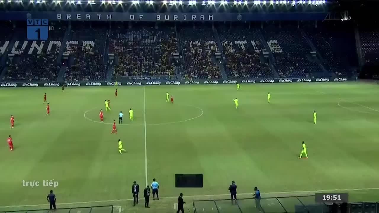 Chung kết King's Cup 2019: Việt Nam 1-1 Curacao (Pen: 4-5) (Nguồn: VTC)