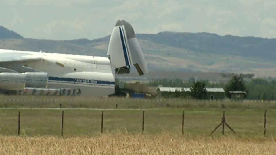 Linh kiện S-400 được đưa đến Thổ Nhĩ Kỳ.