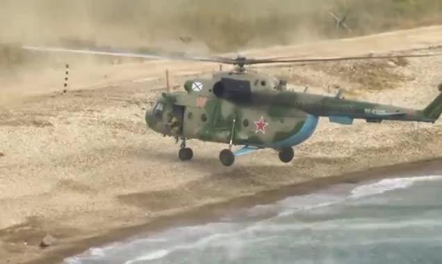 Quân đội Nga tập trận đổ bộ trên biển Nhật Bản