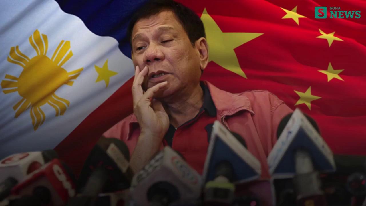 """[VIDEO] Ông Duterte và những phát ngôn """"nịnh"""" TQ"""