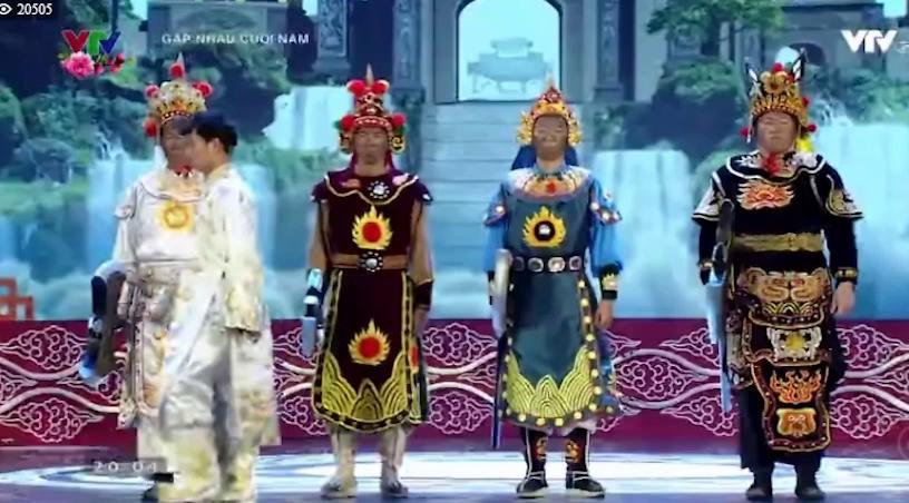 Nam Tào điều đội quân Thiên lôi thu phí Táo quân khi vào thiên đình.
