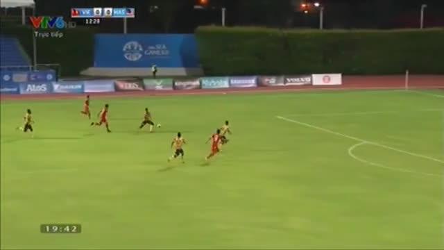 U23 Việt Nam 5-1 U23 Malaysia