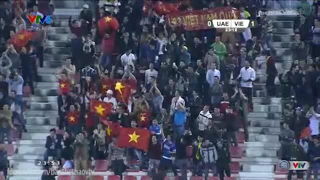 U23 Việt Nam 2-3 U23 UAE