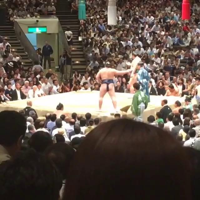 Công Phượng và Tuấn Anh cùng đi xem sumo