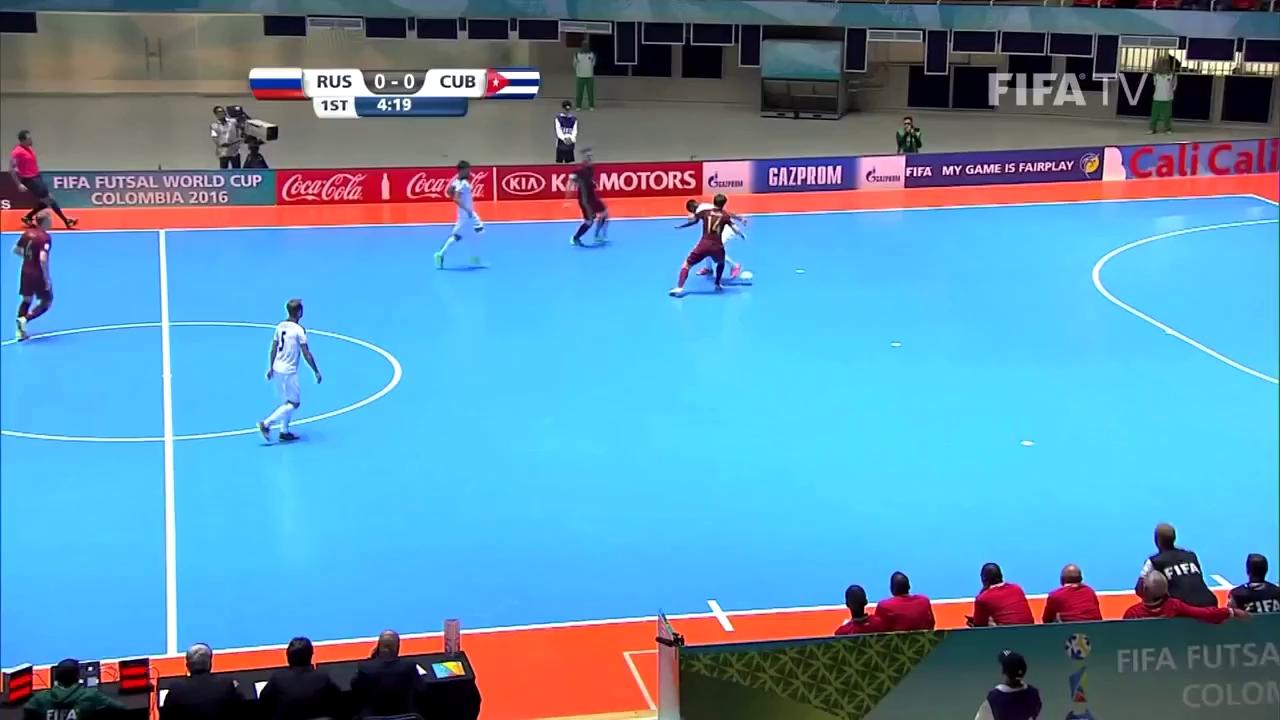 World Cup futsal 2016: Nga 7-1 Cuba