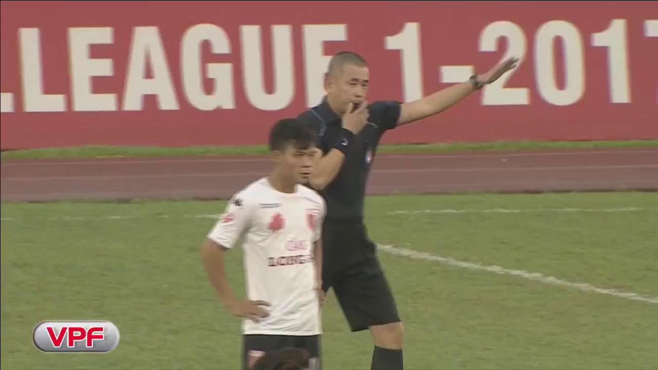 Bê bối trầm trọng ở V-League 2017: TP. HCM 5-2 Long An (vòng 6 V-League)