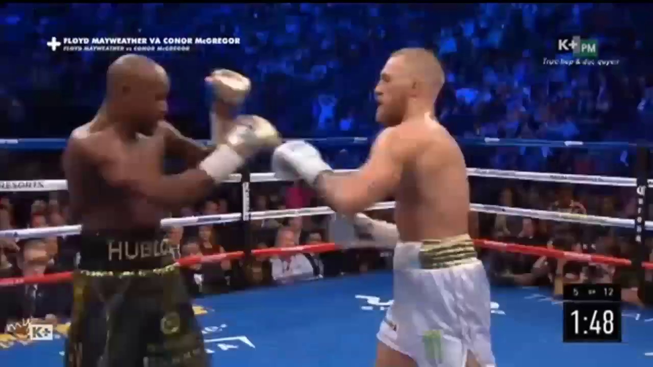 Highlight Mayweather vs McGregor