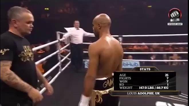 Video cú đấm trộm của võ sỹ Louis khiến đối thủ bất tỉnh