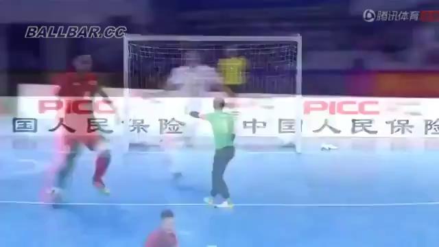 Cúp Tứ hùng Trung Quốc (futsal): Việt Nam 4-3 Trung Quốc