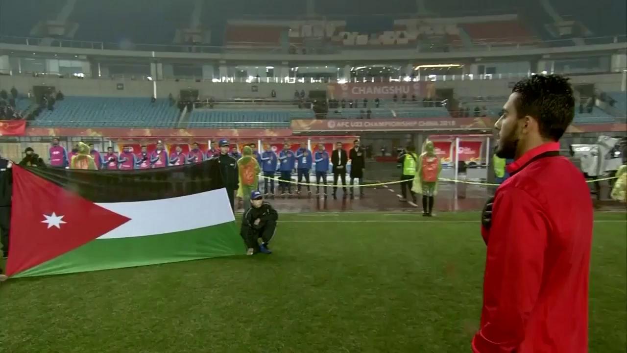 VCK U23 châu Á: U23 Iraq 1-0 U23 Jordan