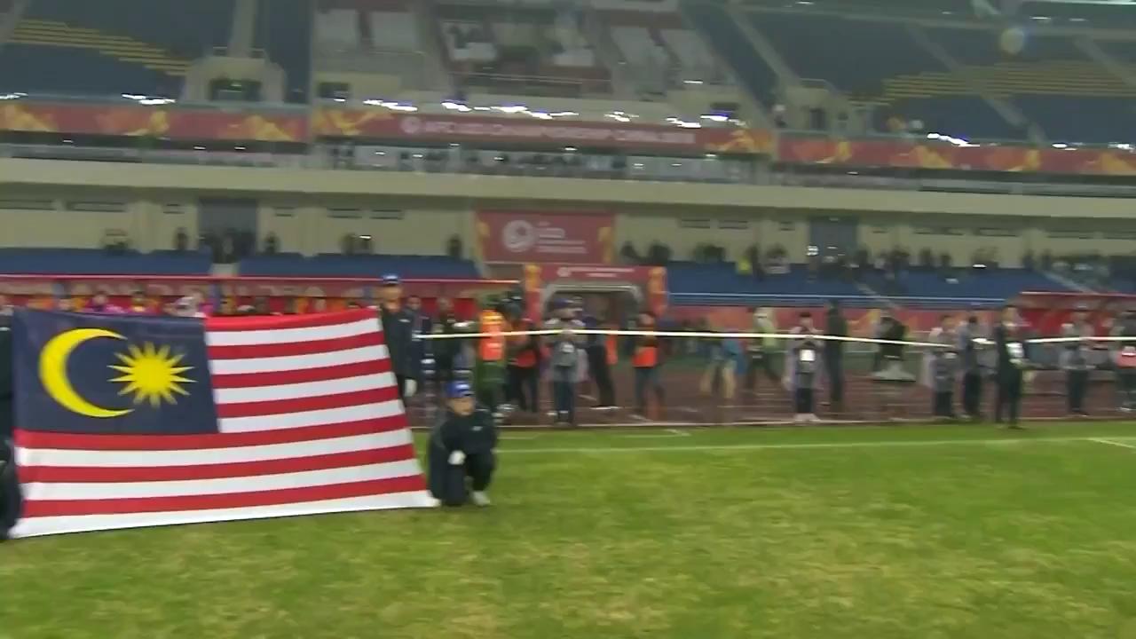 VCK U23 châu Á: U23 Malaysia 1-0 U23 Saudi Arabia