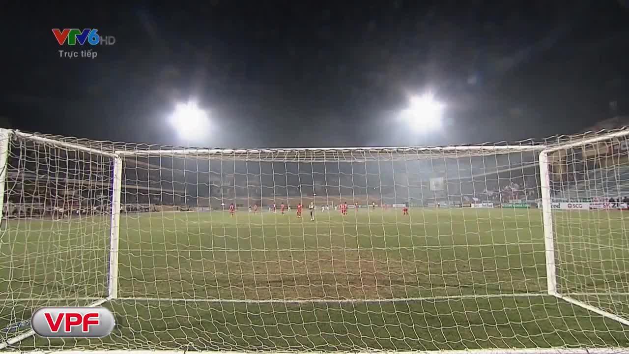 Vòng 1 V.League 2018: Hà Nội FC 1-0 Hải Phòng