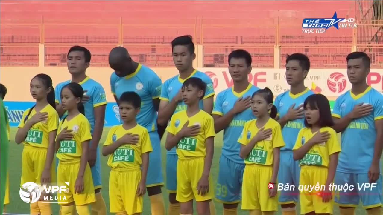 Vòng 3 V.League 2018: Khánh Hòa 0-0 Đà Nẵng