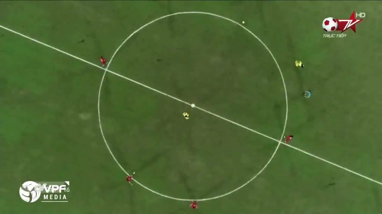 Vòng 3 V.League 2018: Nam Định 0-1 Hải Phòng