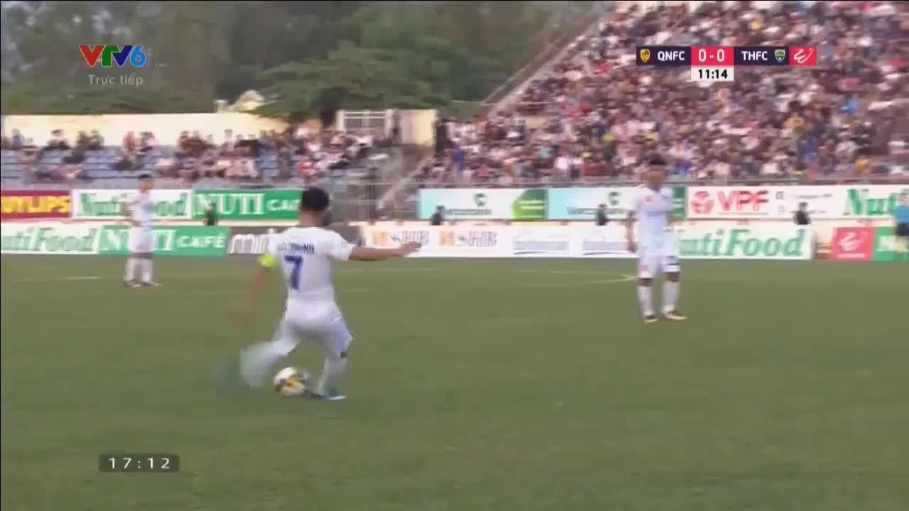 Vòng 3 V.League 2018: Quảng Nam 1-0 Thanh Hóa