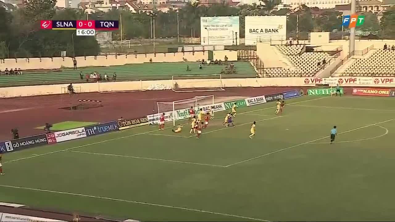 Vòng 3 V.League 2018: SLNA 2-2 Than Quảng Ninh