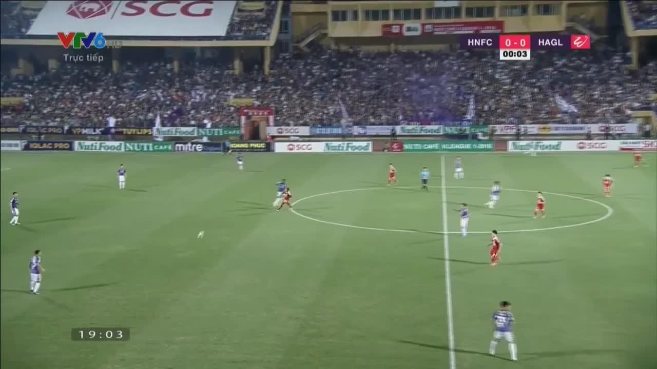 Đấu bù vòng 3 V.League: Hà Nội 5-0 HAGL