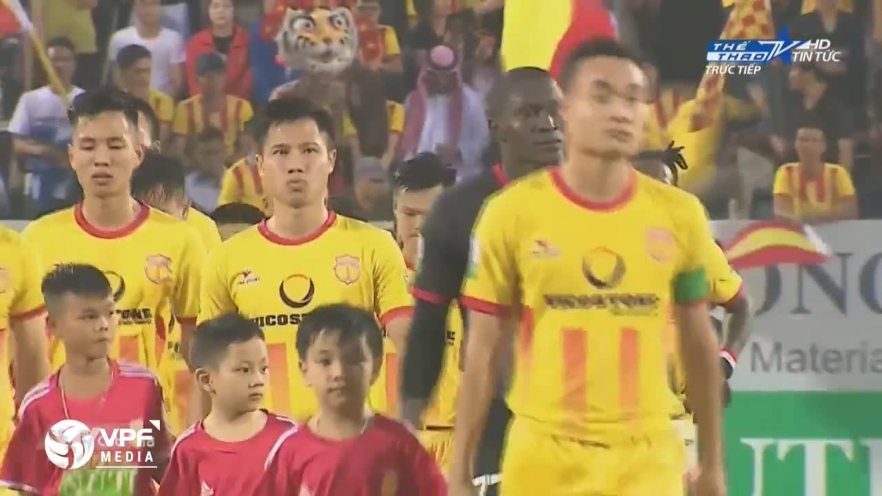 Vòng 5 V.League 2018: Nam Định 1-3 TP.HCM