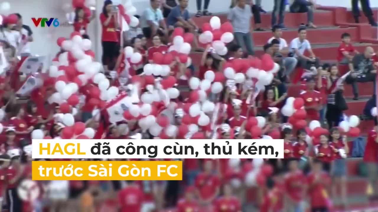 HAGL đã công cùn, thủ kém trước Sài Gòn FC như thế nào?