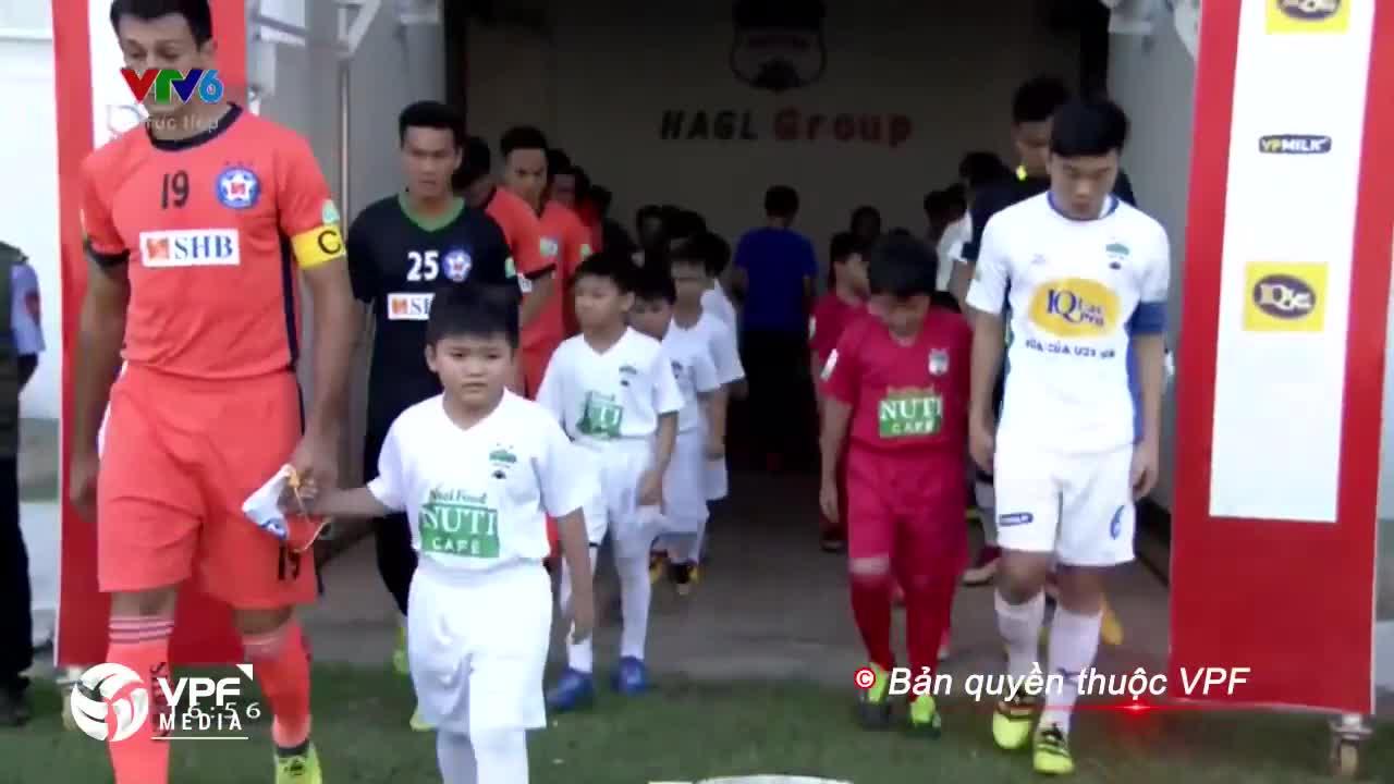 Vòng 6 V.League 2018: HAGL 2-0  Đà Nẵng