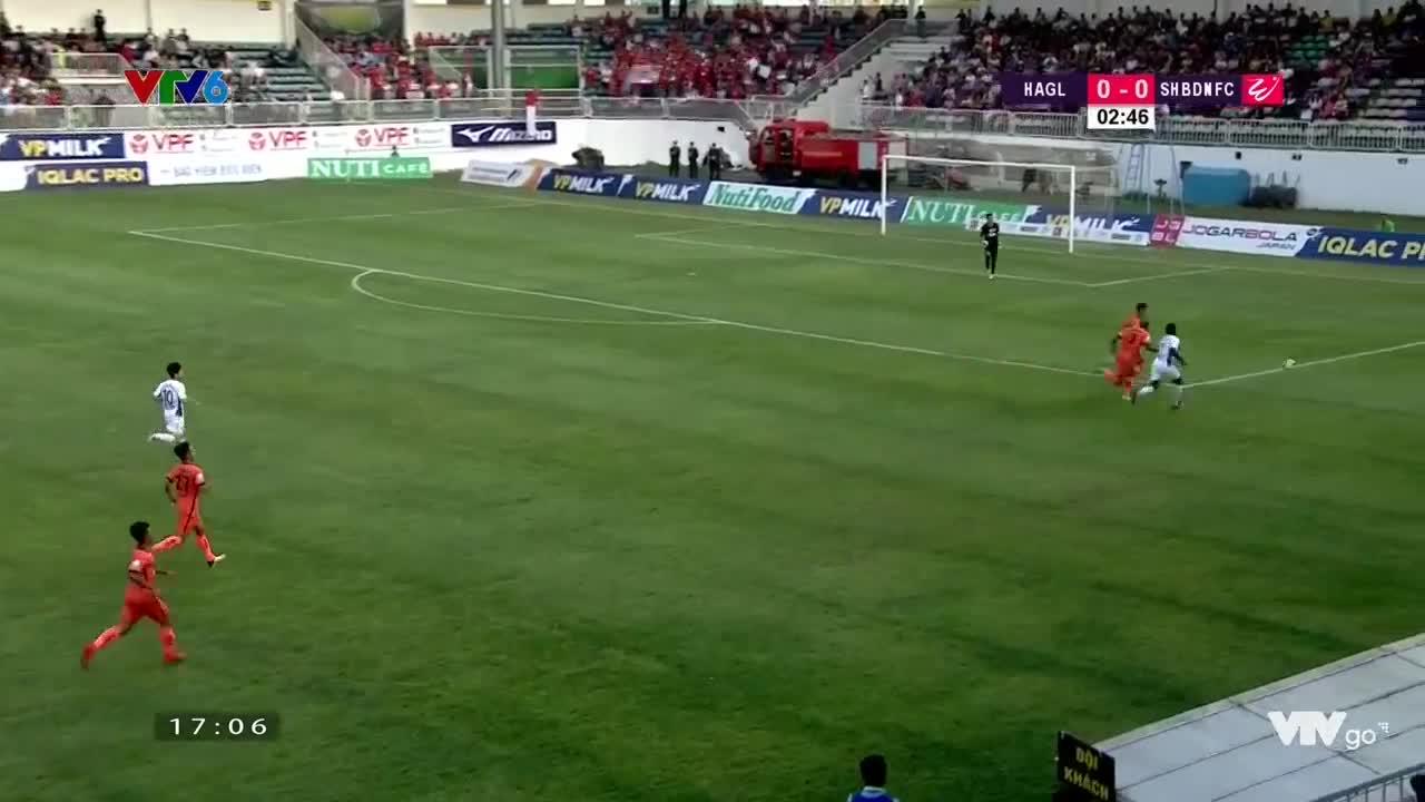 Màn trình diễn của Romario trong trận HAGL 2-0 Đà Nẵng (Vòng 6 V.League 2018)