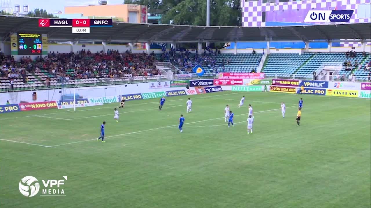 Vòng 13 V.League 2018: HAGL 2-3 Quảng Nam