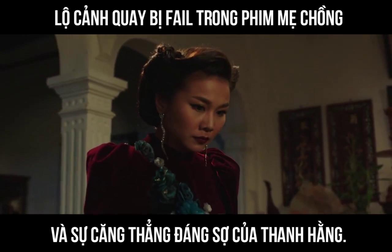 """Cảnh Thanh Hằng chĩa kéo """"dọa nạt"""" Song Luân vì quên kịch bản"""