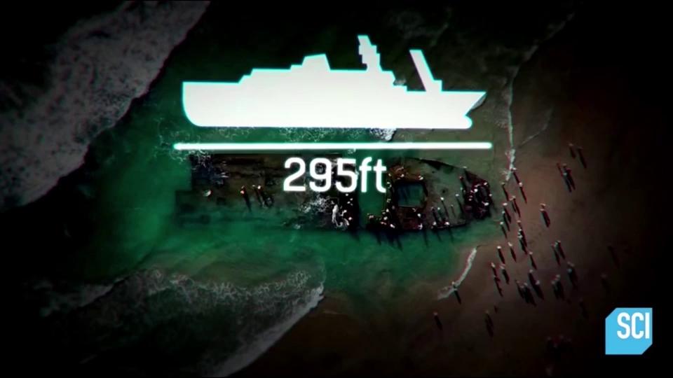 Nghi vấn xác tàu dạt bờ biển California là tàu MV Lyubov Orlova