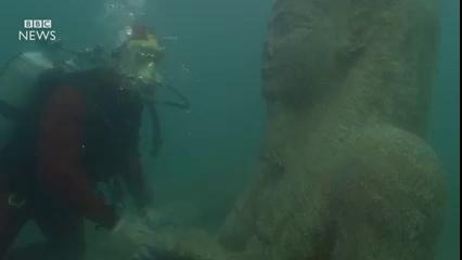 Phát hiện nhiều cổ vật giá trị được cho là thuộc về thành phố cổ Heracleion, Ai Cập