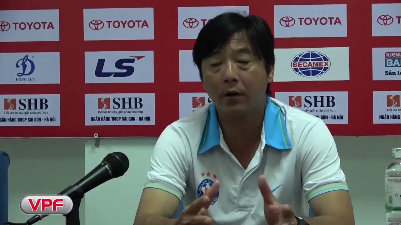 HLV Lê Huỳnh Đức cho rằng Đức Chinh sa sút do quá trình rèn thể lực cùng U20 Việt Nam