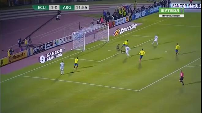 Video cú hat-trick của Messi vào lưới Ecuador