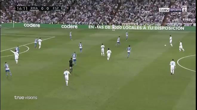 Video Real Madrid thắng Espanyol nhưng Ronaldo vẫn bất lực ghi bàn ở La Liga