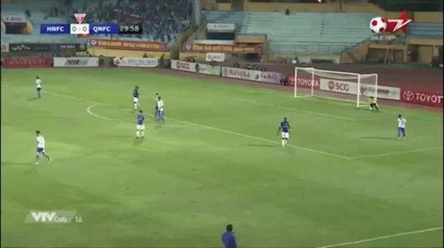 Vòng 25 V-League 2017: Hà Nội FC 1-0 Quảng Nam