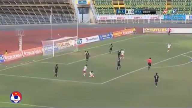 Giải U21 quốc tế báo Thanh Niên: U21 Thái Lan 0-1 U21 Myanmar