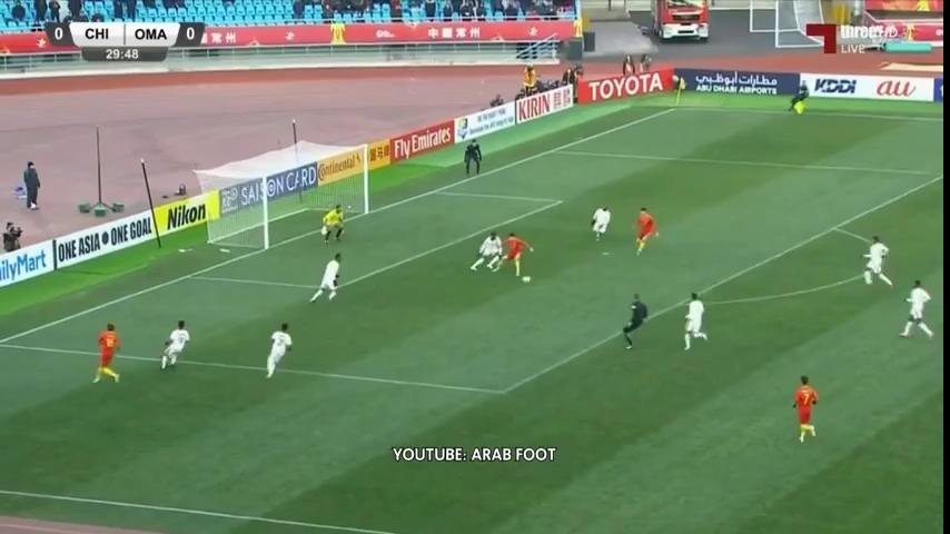 VCK U23 châu Á 2018: U23 Trung Quốc 3-0 U23 Oman