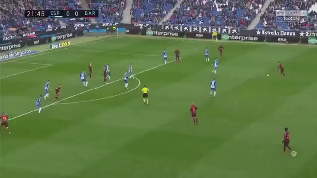 Vòng 22 La Liga: Espanyol 1-1 Barcelona
