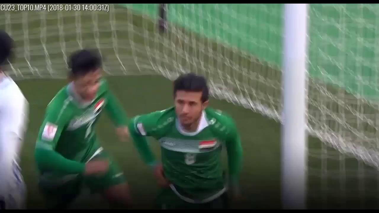 Video bàn thắng đẹp nhất vòng chung kết U23 châu Á 2018 của Quang Hải
