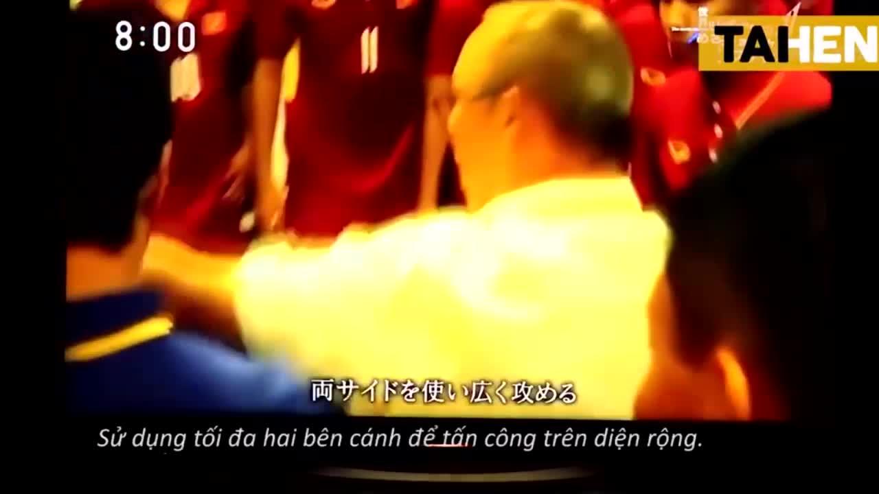 Video: Truyền hình Nhật Bản làm phóng sự về U23 Việt Nam