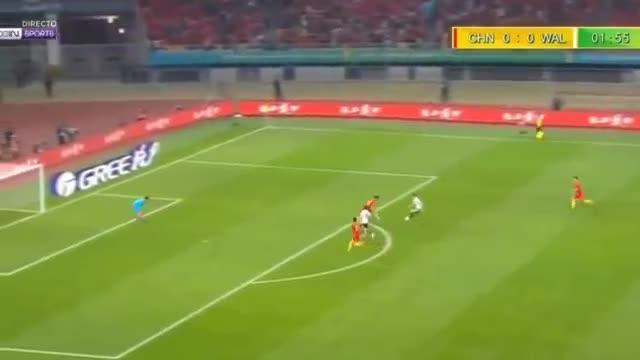 Trung Quốc 0-6 Xứ Wales