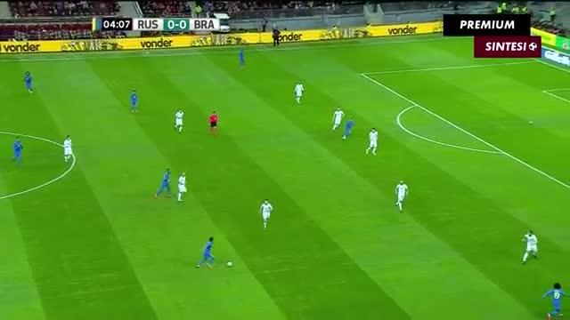 Giao hữu casino o viet nam: Nga 0-3 Brazil