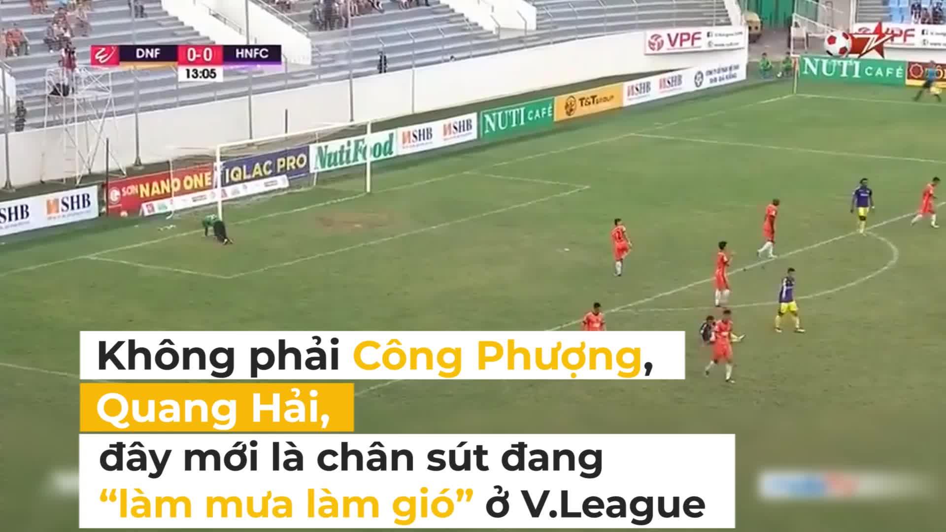 """Không phải Công Phượng, Quang Hải, đây mới là """"sát thủ"""" đang làm mưa làm gió ở V.League"""