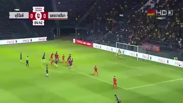 Buriram united vs Nakhon Ratchasima 2-1 Thaileague 2018