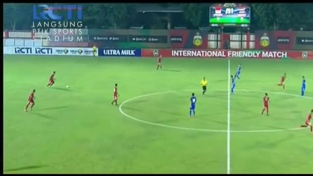 Giao hữu: U13 Indonesia 1-2 U23 Thái Lan